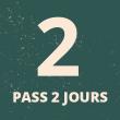 PASS 2 JOURS A 50€